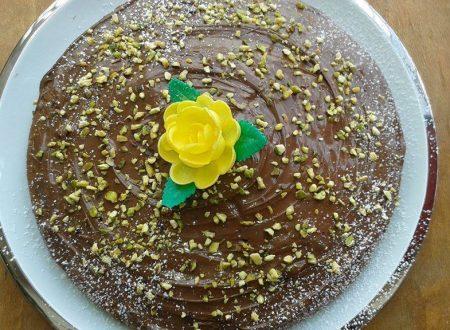 Torta Nutella e granella di Pistacchi ^__^