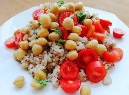 Insalata di Quinoa e Ceci