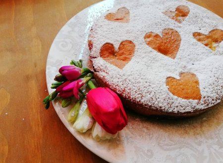 Torta versata con confettura di Lamponi ^__^