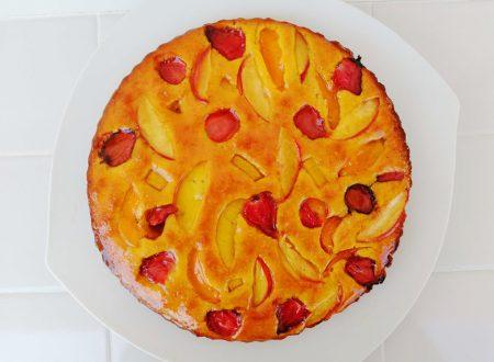 Torta soffice alla frutta estiva ^__^