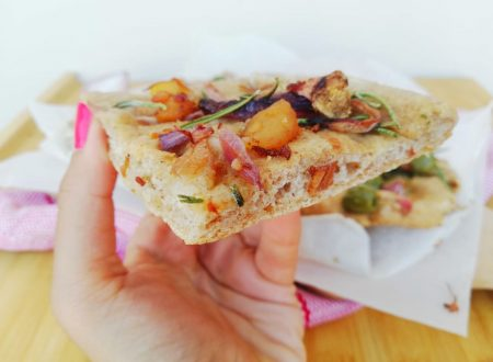Focaccia integrale con olive, patate e rosmarino ^__^