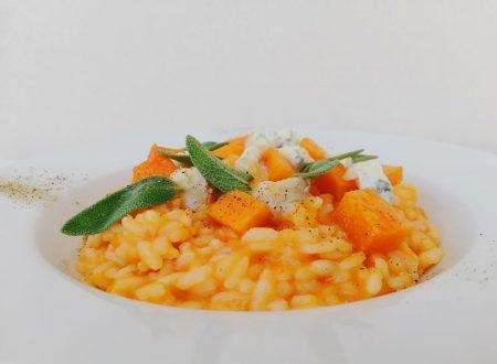 Risotto alla Zucca con Gorgonzola piccante ^_^