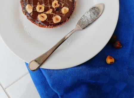 Mini tarte al cioccolato e Nocciole
