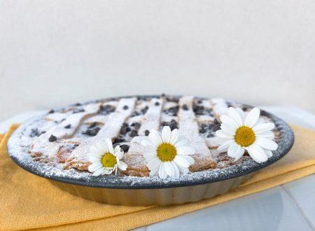 Crostata di Ricotta con Gocce di Cioccolato