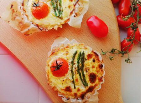 Crostatine salate agli Asparagi ^__^