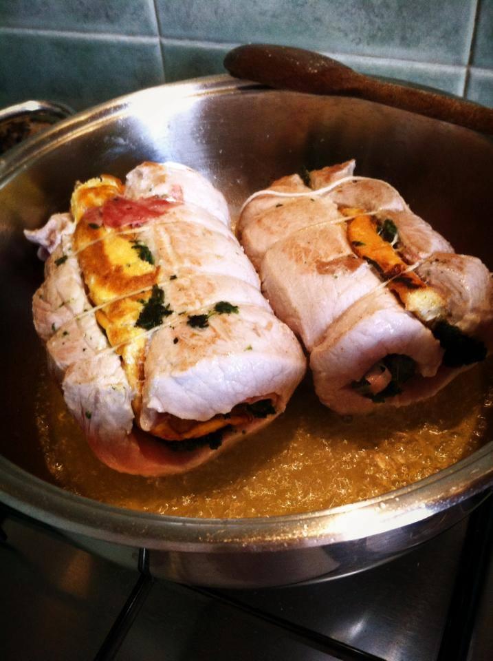 Roll di maiale farcito cucina e pasticci - Cucina e pasticci ...