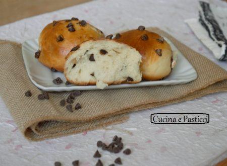 Pane con gocce di cioccolato