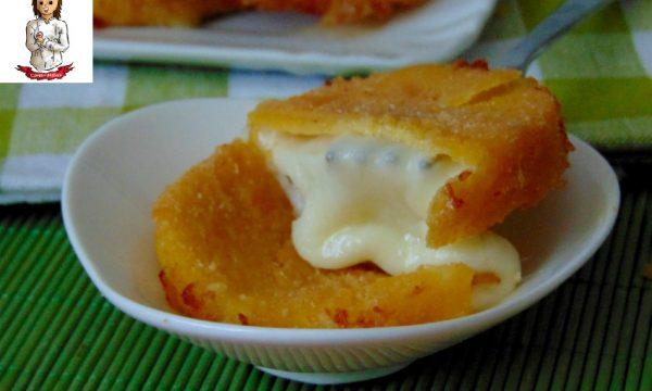 Medaglioni di mozzarella impanata