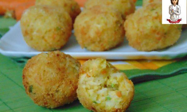 Crocchette di riso e verdure