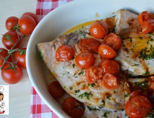 Pesce spada e pomodorini