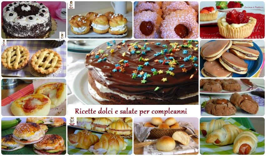 Estremamente Ricette Ricette per feste di compleanno - Le ricette di  MN27