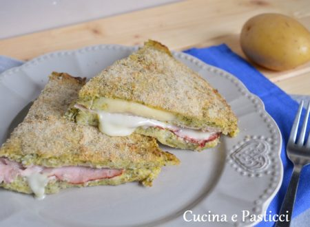 Torta salata con patate e broccoli
