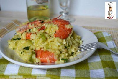 risotto-con-gamberi-e-zucchine