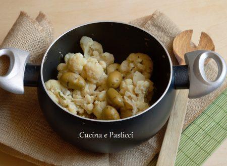 Cavolfiore soffocato con olive