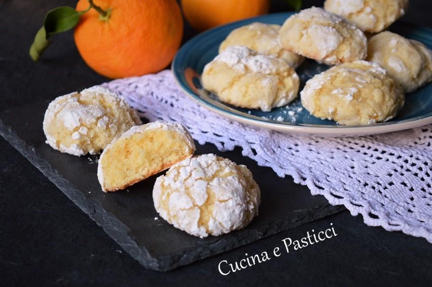Biscotti Morbidi all' Arancia