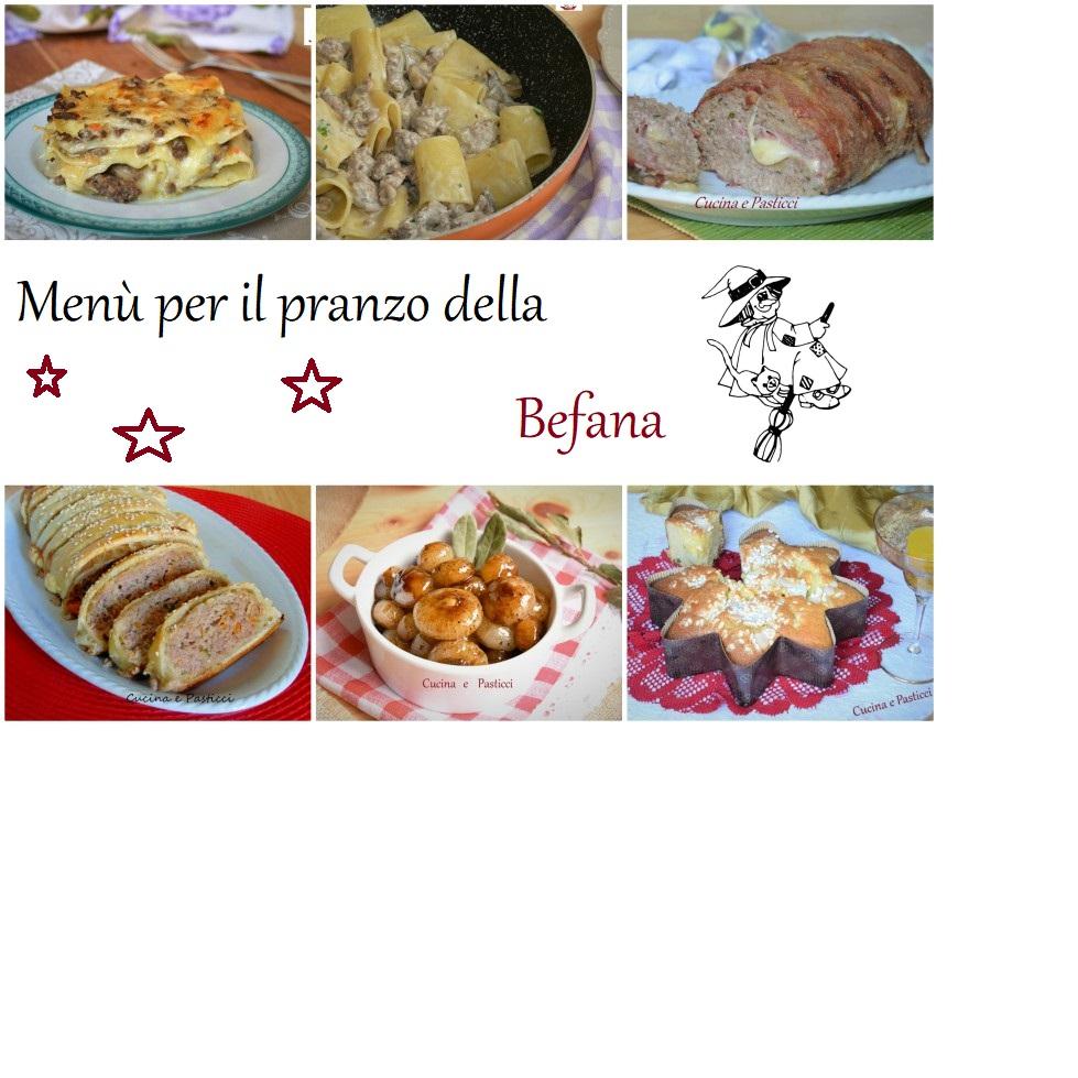 Dolci della befana raccolta di ricette - Menu per ospiti a pranzo ...