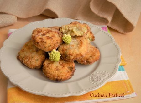Crocchette con patate e broccolo romanesco