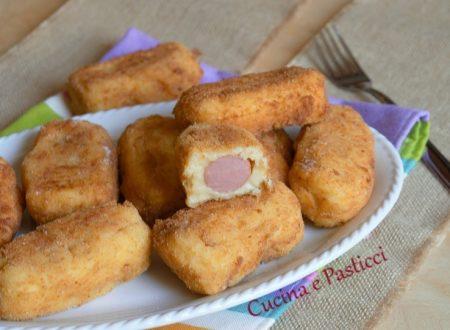 Crocchette di patate e wurstel