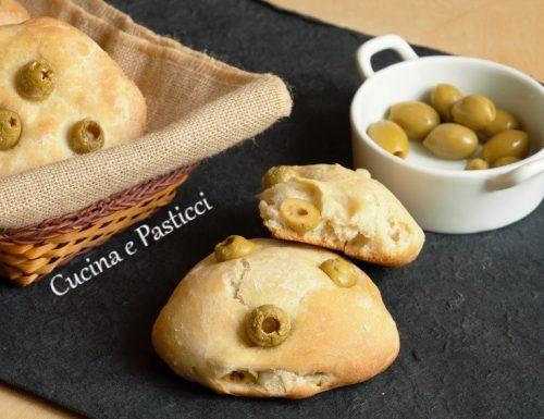 Focacce con olive
