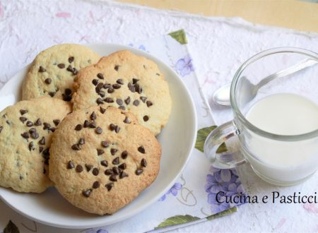 Biscottoni inzupposi tipo cookie