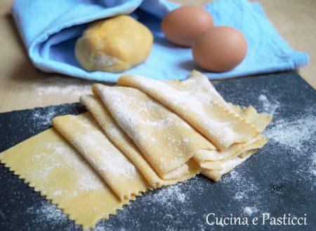 Sfoglia fresca per lasagne