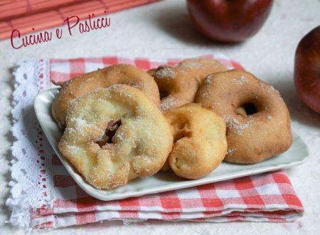 Frittelle di mela e cannella