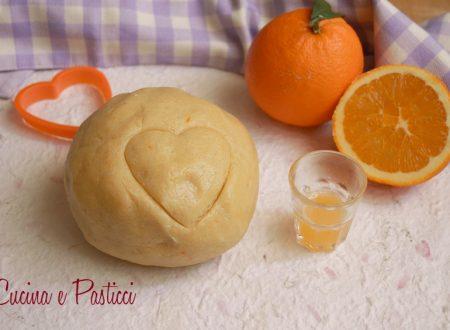 Pasta frolla all' arancia