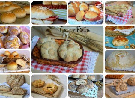 Raccolta ricette di pane fatto in casa