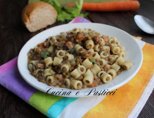 Pasta alle lenticchie