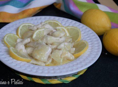 Straccetti di tacchino cremosi al limone