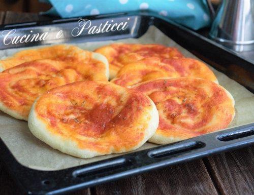 Pizze con impasto per pane