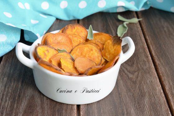 Chips di patate dolci Americane