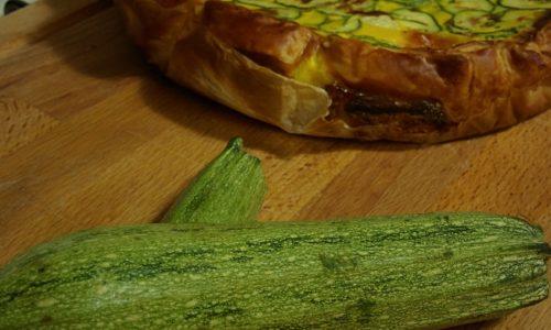 Torta salata salvagente (con zucchine e formaggio)