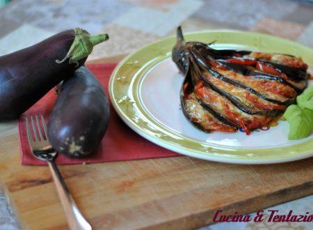 Fiore di parmigiana leggera e gustosa e non fritta