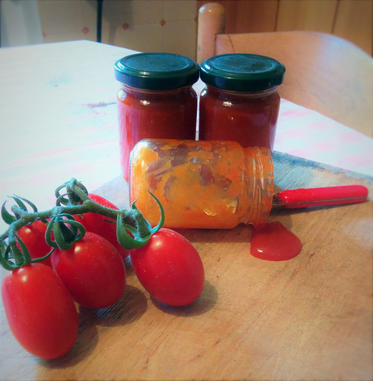 ketchup homemade (con o senza bimby)