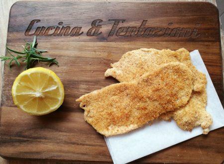 Pollo a dieta (impanato ma light)