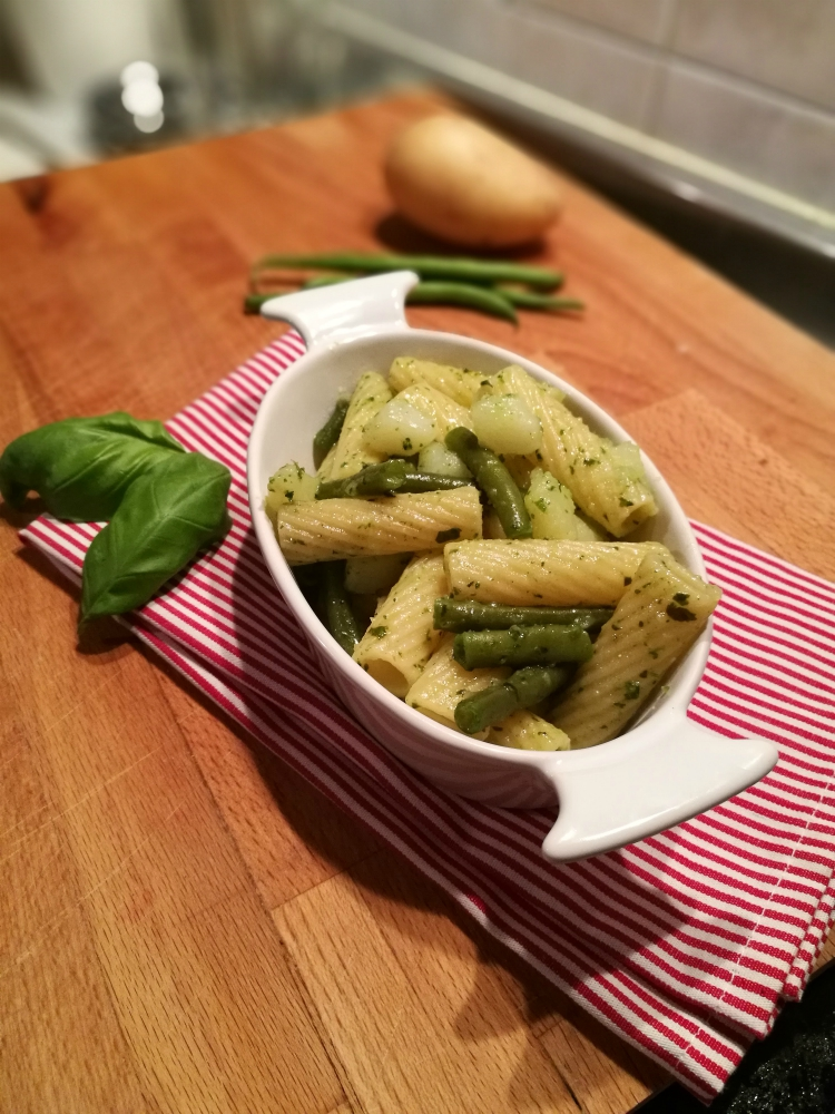 pesto fagiolini patate