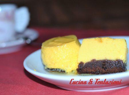 Torta magica Crème caramel e pan di spagna al cioccolato (Kodrit Kadir)