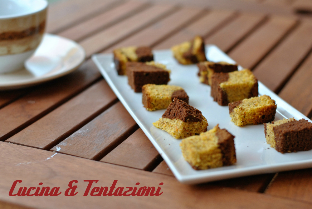 Torta di zucca nocciole e cioccolato fondente