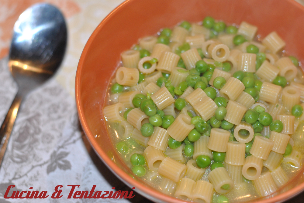 Pasta e piselli (confort food)