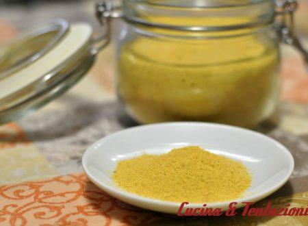 Dado vegetale homemade (versione  granulare con o senza bimby )