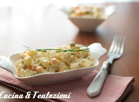 insalata russa (maionese cotta)