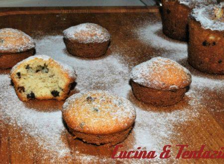 Muffin al cocco e cioccolato dolce godurioso !!