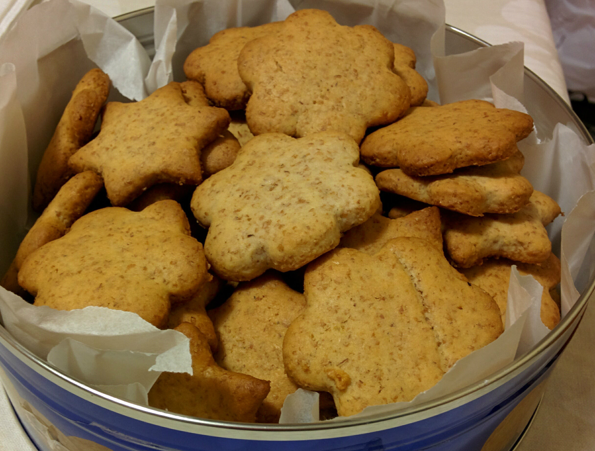 biscotti di frolla integrali