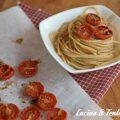 spaghetti e pomodoro confit