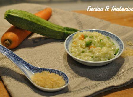 risotto primavera (cottura in bimby o pentola)