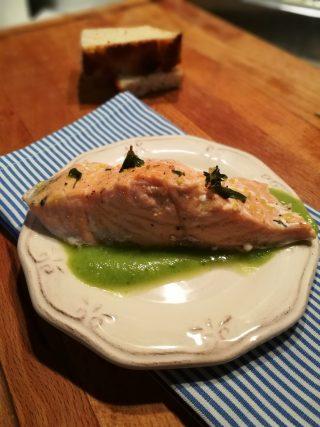 Salmone aromatizzato