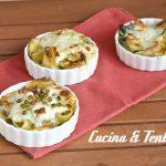 Lumaconi ripieni per tutti i gusti (Ricotta e Spinaci - piselli e prosciutto - zucchine e gorgonzola)