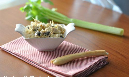 insalata di pollo sedano e olive