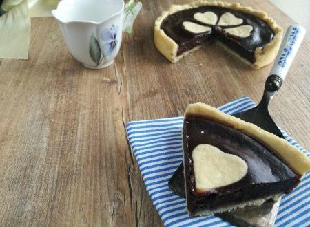 crostata vegana cioccolatosa